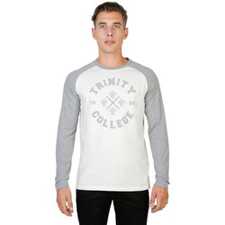 Textil Homem T-shirt mangas compridas Oxford University - trinity-raglan-ml 35