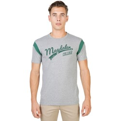 Textil Homem T-Shirt mangas curtas Oxford University - magdalen-varsity-mm 35