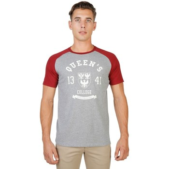 Textil Homem T-Shirt mangas curtas Oxford University - queens-raglan-mm 8