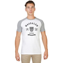 Textil Homem T-Shirt mangas curtas Oxford University - magdalen-raglan-mm 35