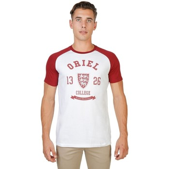 Textil Homem T-Shirt mangas curtas Oxford University - oriel-raglan-mm 8