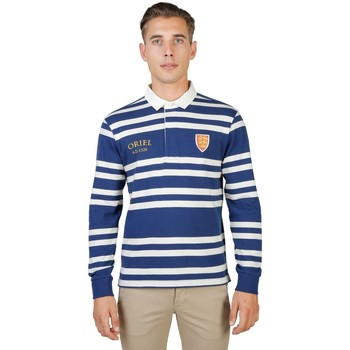 Textil Homem Polos mangas compridas Oxford University - oriel-rugby-ml 19