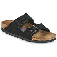 Sapatos Mulher Chinelos Birkenstock ARIZONA SFB Preto