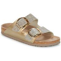 Sapatos Mulher Chinelos Birkenstock ARIZONA BIG BUCKLE Ouro