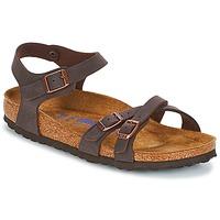 Sapatos Mulher Sandálias Birkenstock KUMBA SFB Castanho