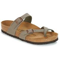 Sapatos Mulher Chinelos Birkenstock MAYARI Cinza