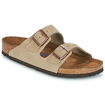 Sapatos Homem Chinelos Birkenstock ARIZONA SFB Toupeira