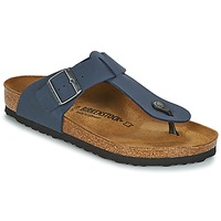 Sapatos Homem Chinelos Birkenstock MEDINA Azul
