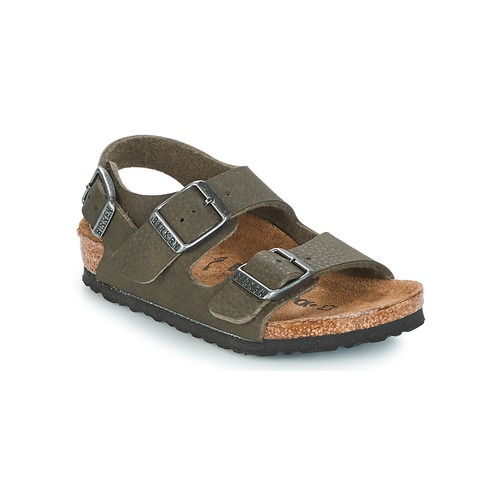 Sapatos Rapaz Sandálias Birkenstock MILANO Verde