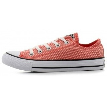 Sapatos Mulher Sapatilhas Converse CTAS OX ULTRA RED BLACK WHITE rouge