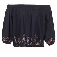 Textil Mulher Tops / Blusas Moony Mood IFITI Preto
