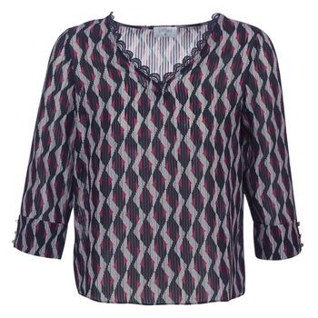 Textil Mulher Tops / Blusas Casual Attitude IDENOQO Marinho