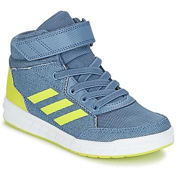 Sapatos Rapaz Sapatilhas de cano-alto adidas Performance ALTASPORT MID EL K Azul