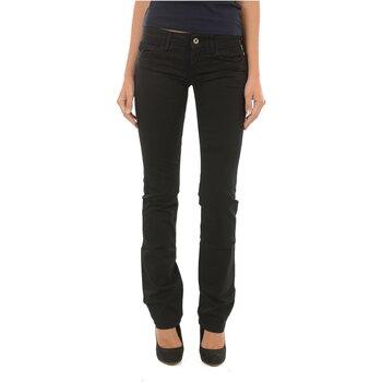 Textil Mulher Calças Jeans Meltin'pot MELIA G2311 GT000 Preto