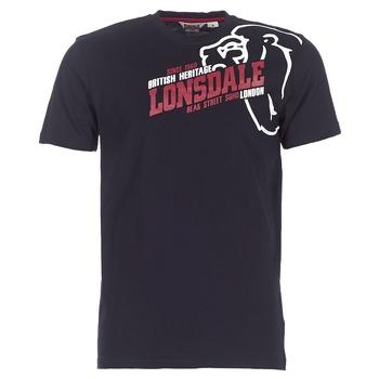 Textil Homem T-Shirt mangas curtas Lonsdale WALKLEY Preto