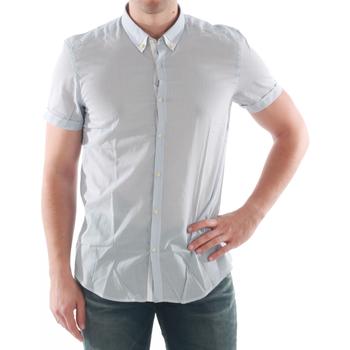 Textil Homem Camisas mangas curtas Antony Morato - Azul claro