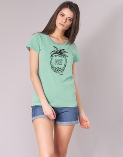 Textil Mulher T-Shirt mangas curtas Bench BLWG002642 Verde
