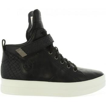 Sapatos Mulher Sapatilhas de cano-alto Timberland CA1AJ6 Negro
