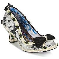 Sapatos Mulher Escarpim Irregular Choice BISH BASH BOW Prata / Preto