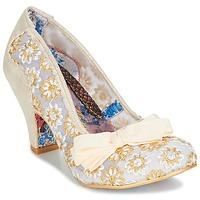 Sapatos Mulher Escarpim Irregular Choice PALM COVE Bege