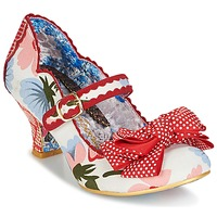 Sapatos Mulher Escarpim Irregular Choice BALMY NIGHTS Branco / Vermelho