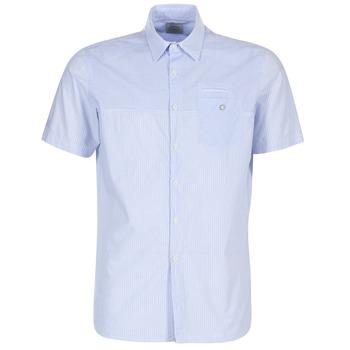 Textil Homem Camisas mangas curtas Oxbow K1CAMINO Azul / Céu
