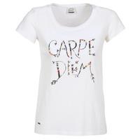 Textil Mulher T-Shirt mangas curtas Oxbow K1TEANA Branco