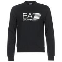Textil Homem Sweats Emporio Armani EA7 TRAIN VISIBILITY Preto
