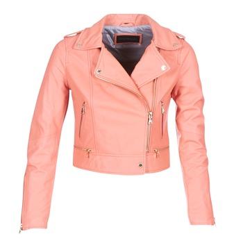 Textil Mulher Casacos de couro/imitação couro Oakwood 62822 Coral