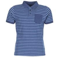 Textil Homem Polos mangas curta Casual Attitude INUTIOLE Azul / Branco