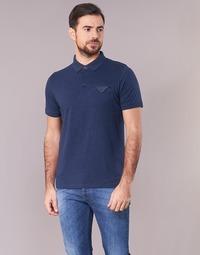 Textil Homem Polos mangas curta Casual Attitude ITATATO Azul