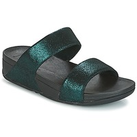 Sapatos Mulher Chinelos FitFlop SLIDE Verde