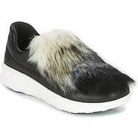 Sapatos Mulher Slip on FitFlop LOAFER Preto