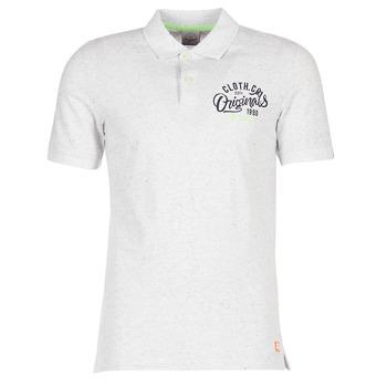 Textil Homem Polos mangas curta Jack & Jones JORTRAST Branco