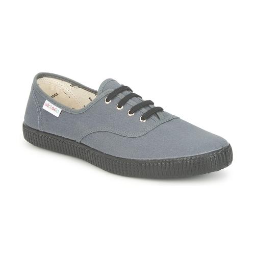 Sapatos Sapatilhas Victoria INGLESA LONA PISO Antracite