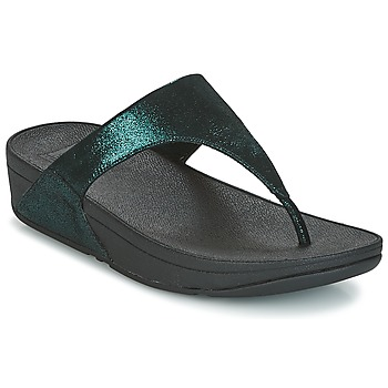 Sapatos Mulher Chinelos FitFlop SHIMMY SUEDE TOE-POST Verde