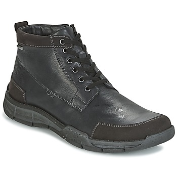 Sapatos Homem Sapatilhas de cano-alto Josef Seibel PHIL 03 Preto