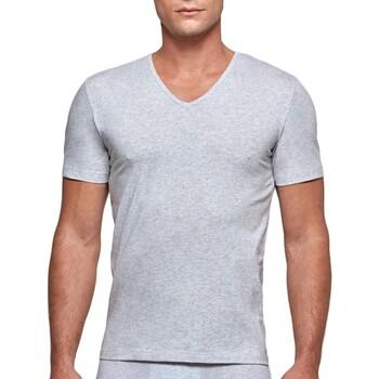 Textil Homem T-Shirt mangas curtas Impetus GO31024 073 Cinza