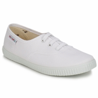 Sapatos Criança Sapatilhas Victoria INGLESA LONA KID Branco