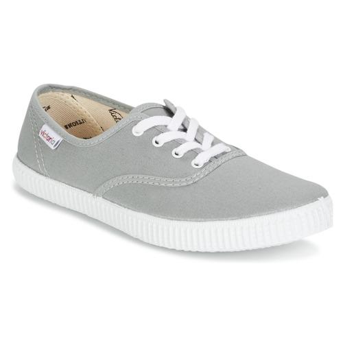 Sapatos Sapatilhas Victoria INGLESA LONA Cinza