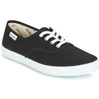 Sapatos Sapatilhas Victoria INGLESA LONA Preto