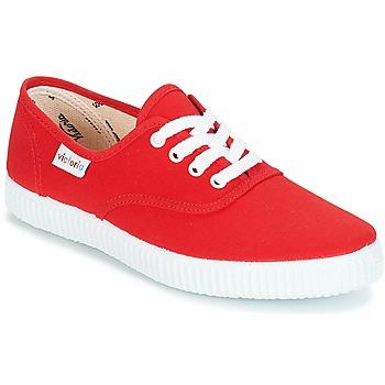 Sapatos Sapatilhas Victoria INGLESA LONA Vermelho