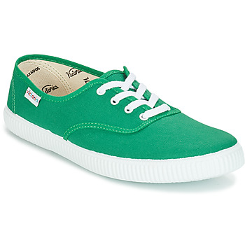 Sapatos Sapatilhas Victoria INGLESA LONA Verde