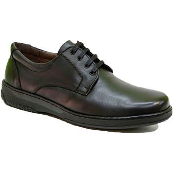 Sapatos Homem Sapatos Primocx Sapato cordas especial para diabéticos extra confortável  em Pre negro