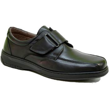 Sapatos Homem Mocassins Primocx Velcro sapato muito confortável homem diabético especial  em Pre negro