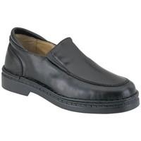 Sapatos Rapaz Mocassins Calzamedi LUVA ESPECIAL M NEGRO