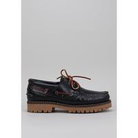 Sapatos Homem Sapato de vela CallagHan 21910 Azul