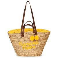 Malas Mulher Cabas / Sac shopping Banana Moon LACELY WOODRAW Natural / Amarelo