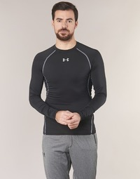 Textil Homem T-shirt mangas compridas Under Armour LS COMPRESSION Preto