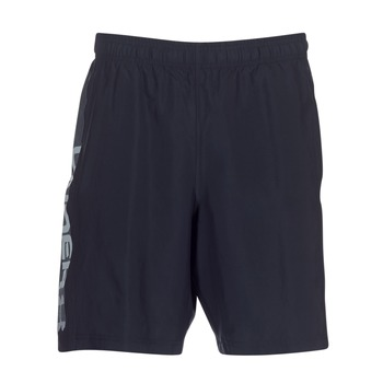 Textil Homem Shorts / Bermudas Under Armour WOVEN GRAPHIC WORDMARK SHORT Preto
